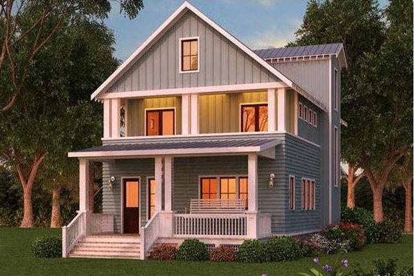 农村自建房设计图欣赏 房屋设计图大全图片