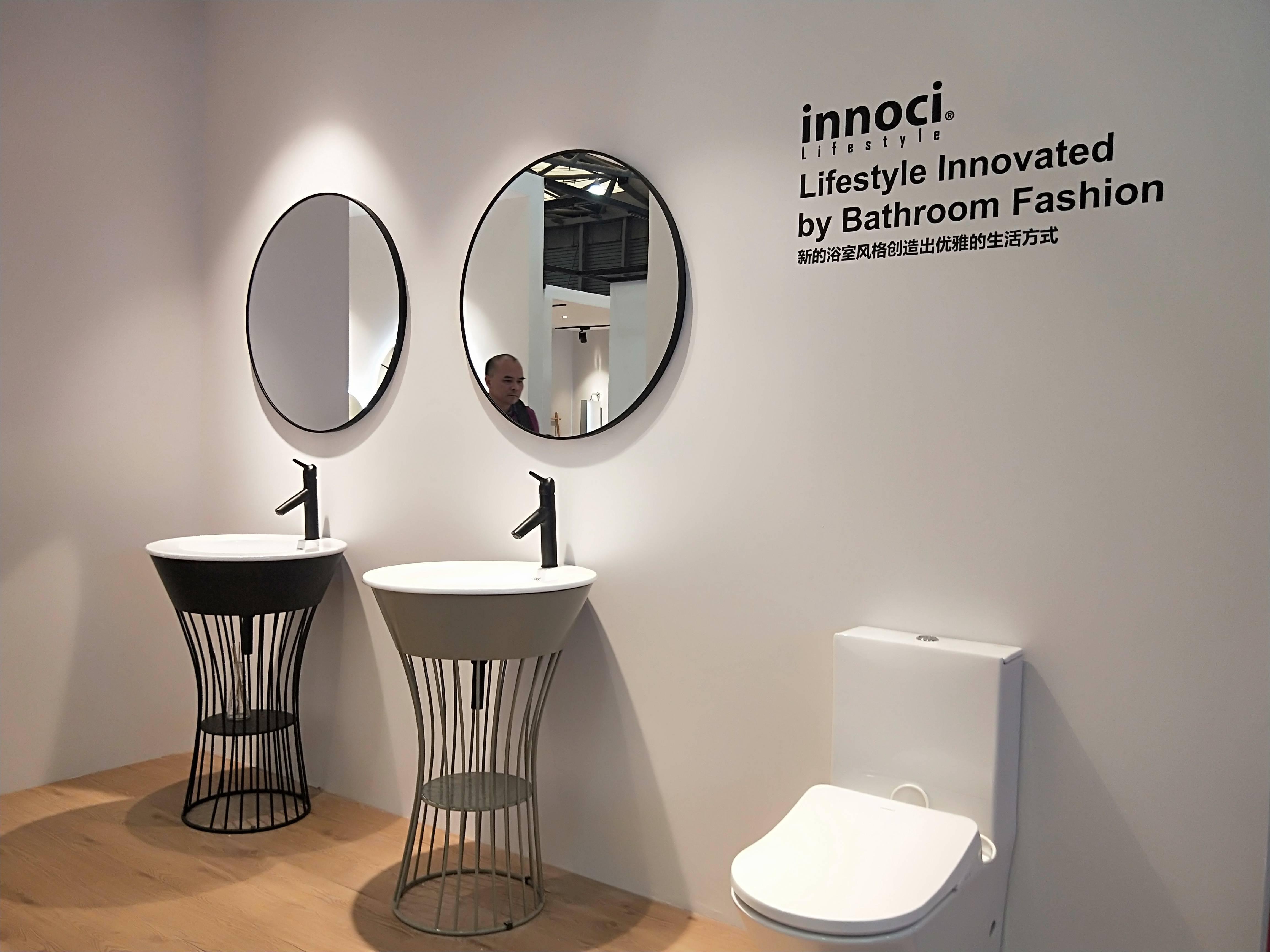 伊奈的产品风格总是这么的优雅和清新,轻巧的造型设计,特别适合小空间使用。