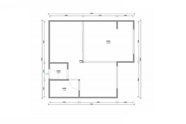 酷家乐装修网-裕华光合世界55.76㎡C1户型1室1厅1卫1厨-户型图.jpg